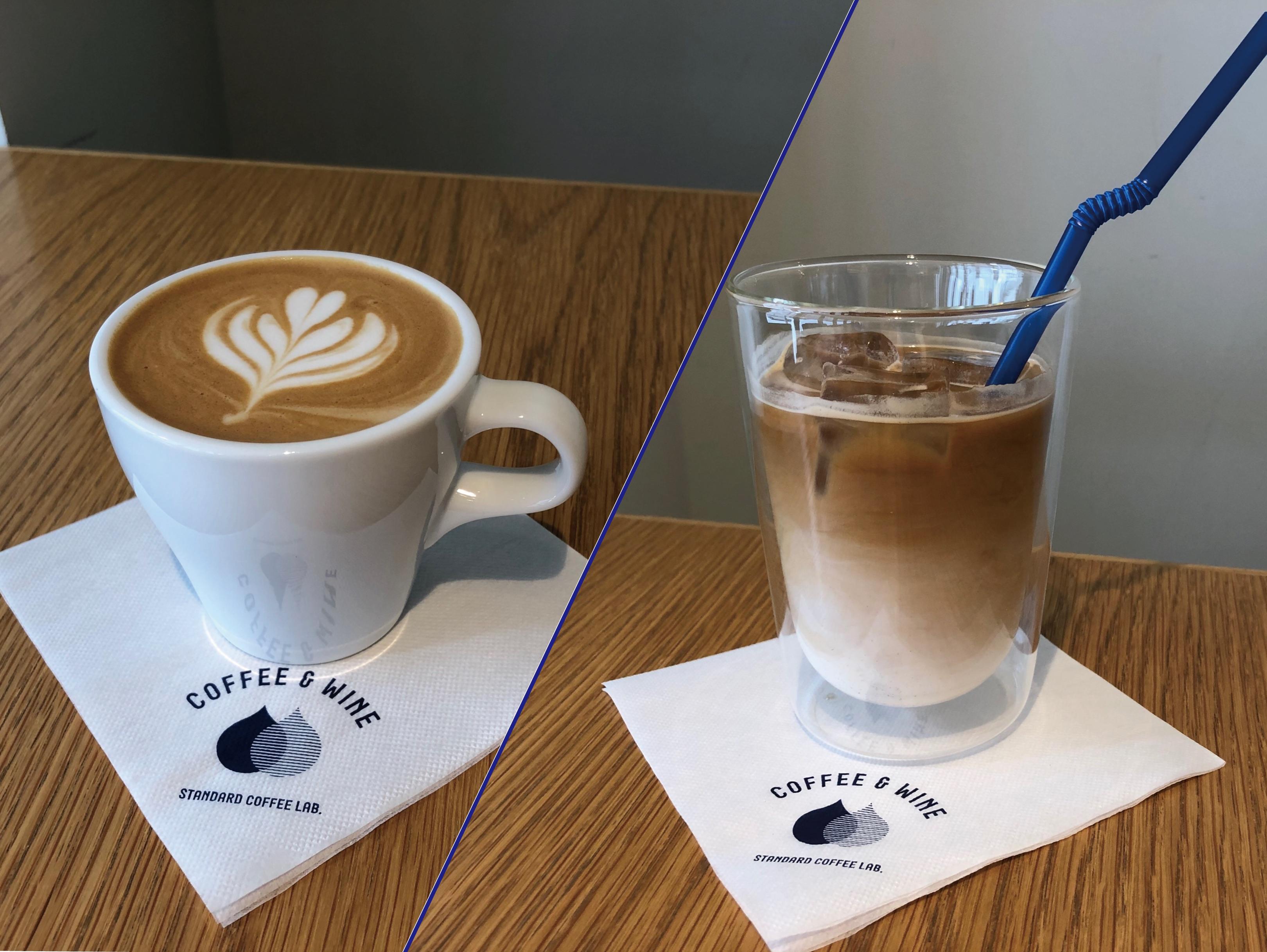 Decaf Latte (カフェインレスカフェラテ)[ICE / HOT]