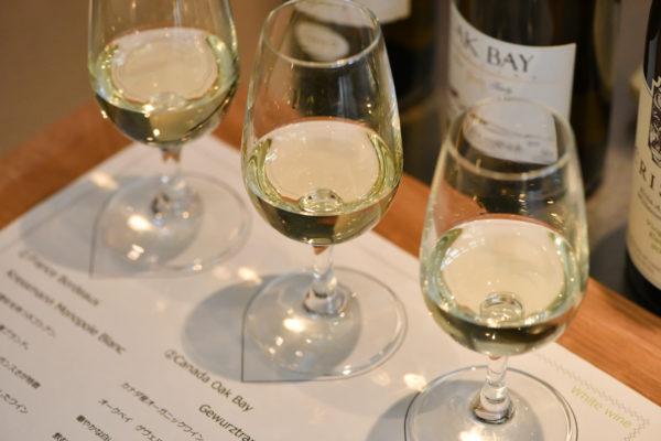 白ワインテイスティングセット