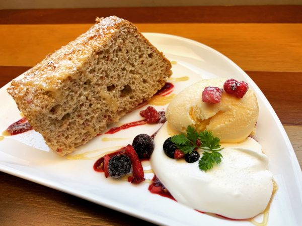エスプレッソのシフォンケーキ