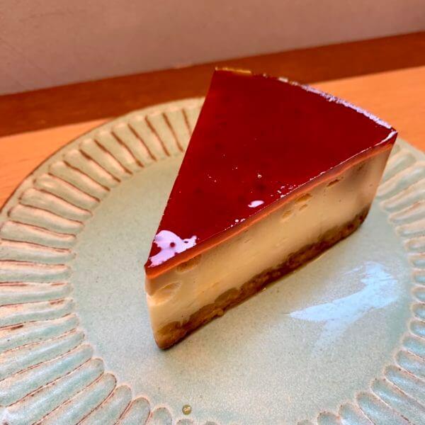 プリンチーズケーキ